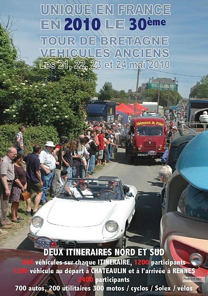 30th Brittany Vintage Car Rally