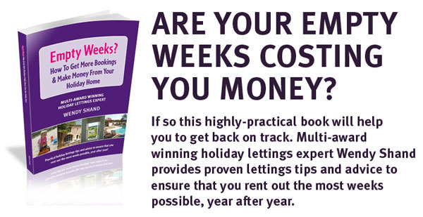 Free book on improving your holiday lettings