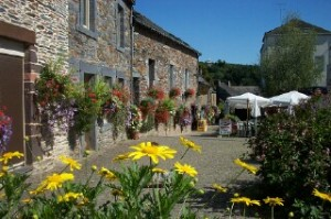 La Gacilly - pretty Breton village and home of Yves Rocher