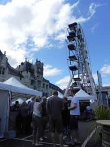 Big wheel Saumur Wine Festival