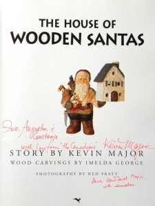The House of Wooden Santas - a story by Kevin Major 3