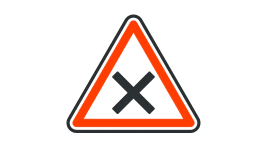French Road Signs – Priorité a droite? Apply or ignore?