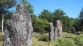 Megaliths at Monteneuf