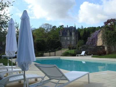 Swimming Pool at Chateau Val